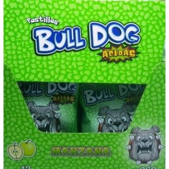 PAST BULL-DOG X 12U 30G MANZANA