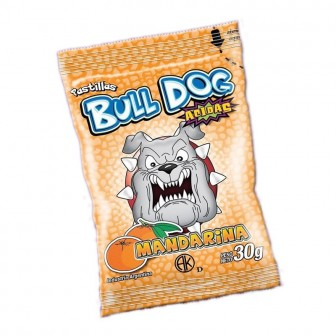 PAST.BULL DOG X30G MANDARINA