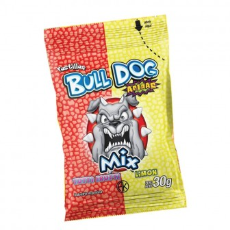 PAST.BULL DOG X30G TUTTI-LIMON