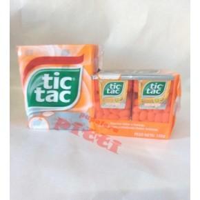 TIC-TAC X 12U NARANJA