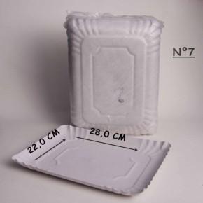 bandeja de carton eco x 100 U. Nº 7