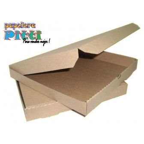 caja de piza microcorrugada x 50 U