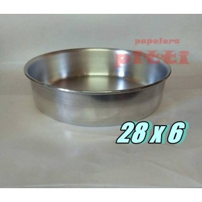 Tortera aluminio N 28 X 6