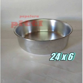 Tortera aluminio N 24 X 6
