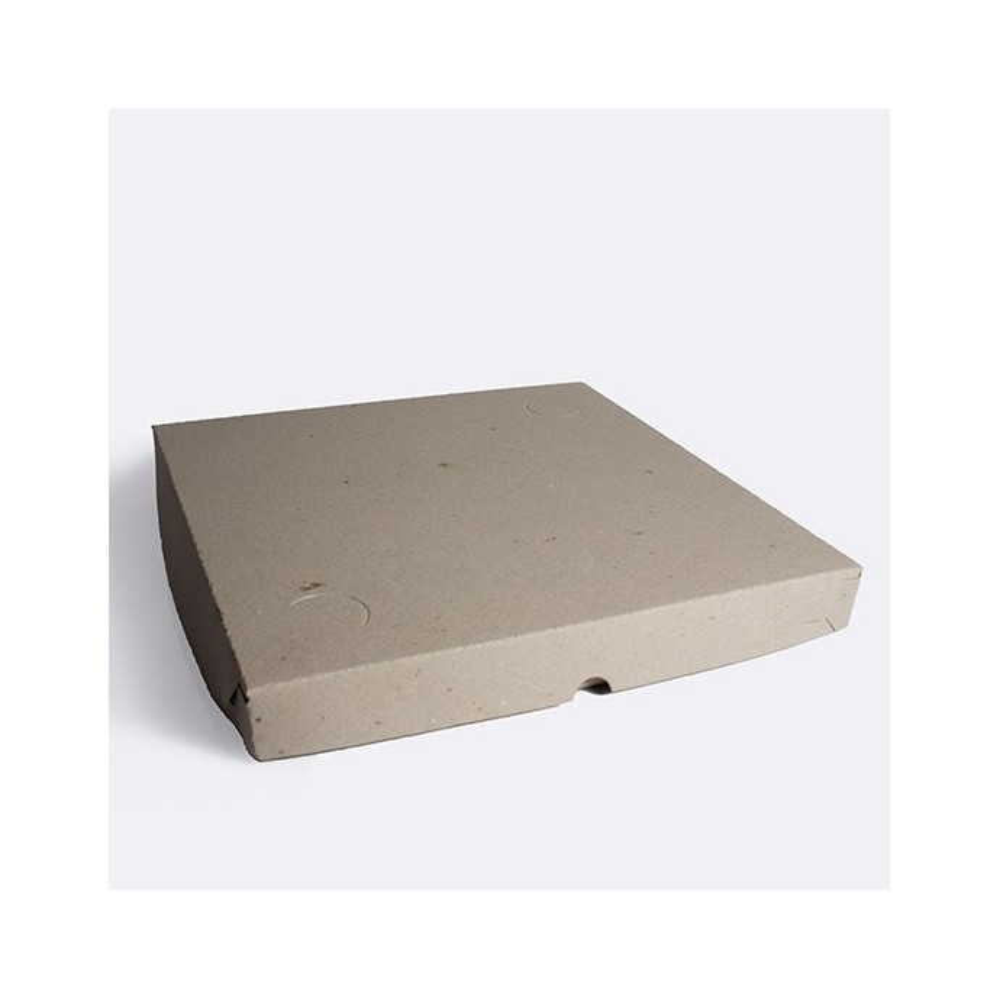 Caja de pizza grande x 100 GRIS