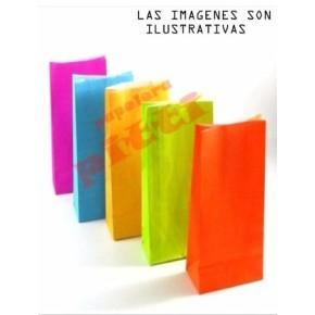bolsas caramelera de papel x 10 U