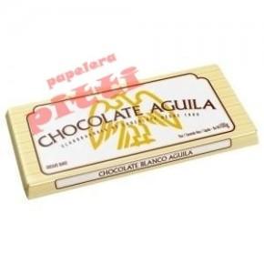 chocolate aguila x 100 g blanco en tableta