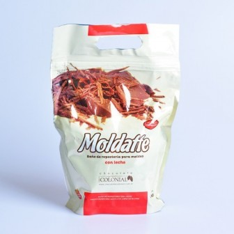 CHOCOLATE COLONIAL MOLDATTE C/LECHE 1KG