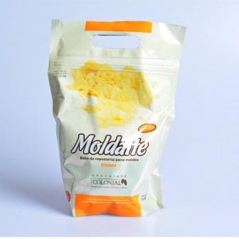CHOCOLATE COLONIAL MOLDATTE BLANCO 1KG