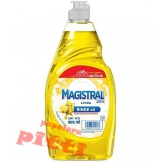 DETERGENTE MAGISTRAL 900 ML - LIMON