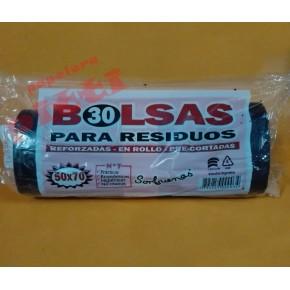 BOLSA DE RESIDUO 50 X 70 X 30 EN ROLLO