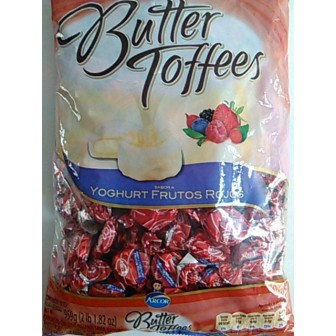CAR. BUTTER TOFFEES 959g FRUT/ROJOS