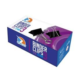 BINDER CLIP NEGR 32M 12U
