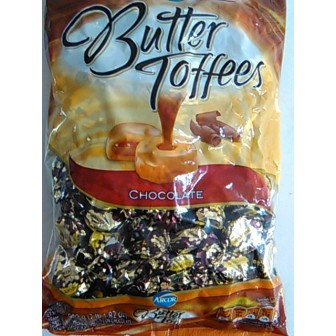 CAR. BUTTER TOFFEES 959g CHOC