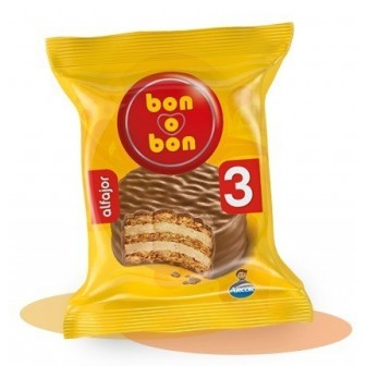 ALFAJOR TRIPLE BONOBON 60G