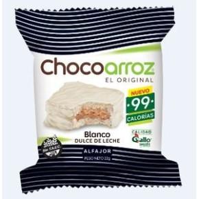 ALFAJOR CHOCOARROZ BCO/DLECHE X24U X 22G