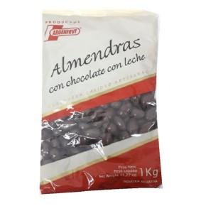 ALMENDRA CON CHOCOLATE ARGEN FRUT X 1KG