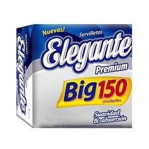 SERVILLETAS ELEGANTE BIG150 UNIDADES