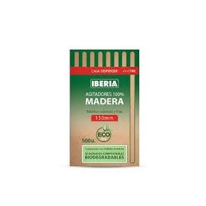 AGITADORES MADERA IBERIA 150MM 500U