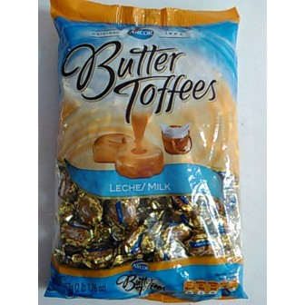 CAR.BUTTER TOFFEES 959g LECHE