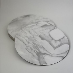 BASES SIMIL MARMOL REDONDA 24 cm