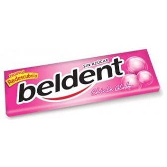 BELDENT CHICLE GLOBO X U