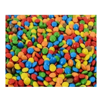 CONFITES MINI LENTEJA CHOCOLATE X 1 Kg