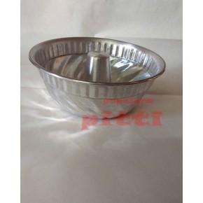 Flanera aluminio labrada