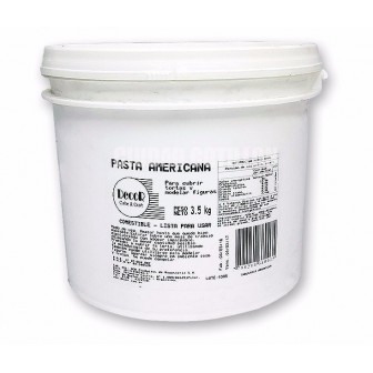 BALDE DECOR AMERICANA 3,5 Kg BLANCO
