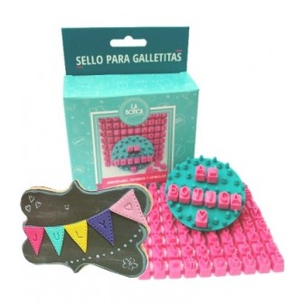 Sello para galletitas LA BOTICA